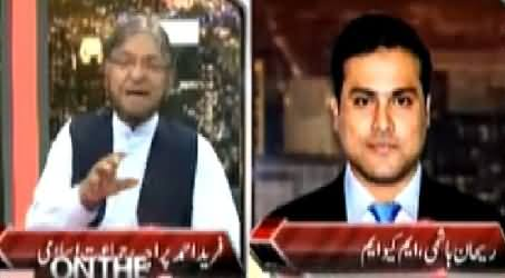 Fight Between Rehan Hashmi (MQM) And Fareed Paracha (JI) In Live Show