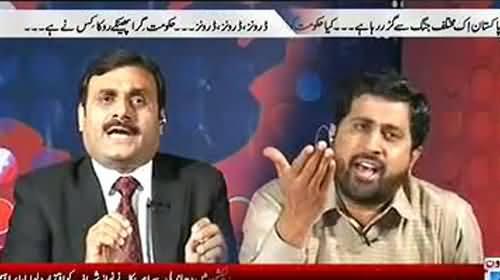 Fight between Shaukat Basra and Fayaz ul Hassan Chohan - Shaukat Basra used abusive language against Imran Khan