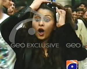 Filmstar Laila Badly Insulted on Airport