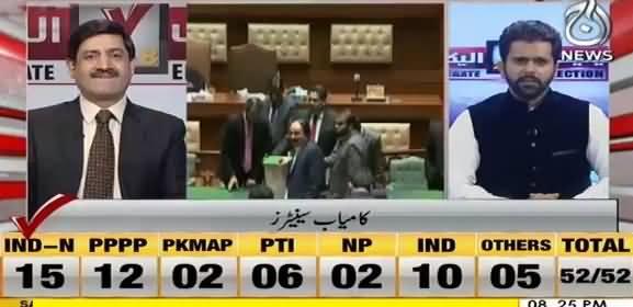 Final Result of Senate Election 2018