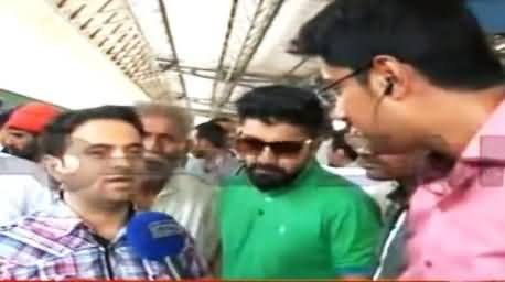 First Green Line Train Reached Karachi From Islamabad, Watch The Views of Passengers