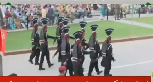 Flag Lowering Ceremony at Wagah Border – 14th August 2018