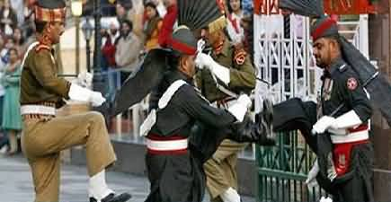 Flag Lowering Ceremony At Wagah Border On Defence Day – 6th September 2018