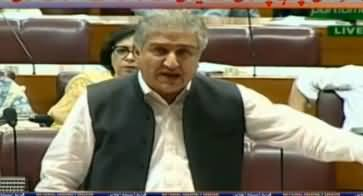 Foreign Minister Shah Mehmood Qureshi Speech in National Assembly - 2nd May 2019