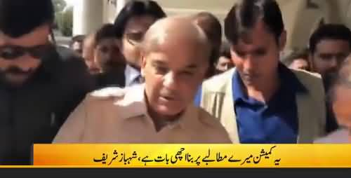 Formation of Parliamentary Commission to probe rigging is a good step, says Shehbaz Sharif