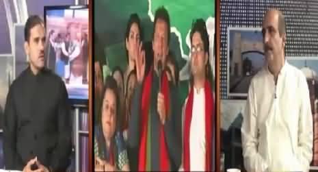 Former PTI Member Akbar S Babar Saying That Imran Khan Is Involved in Money Laundering