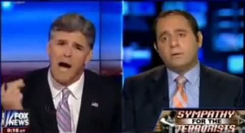Fox News Anchor Shouting At Palestinian Representative and Not Letting him Talk