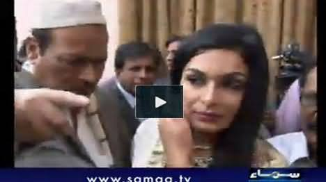 Funny Press conference of Meera in Karachi About Her Hospital and New Movie
