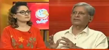 G For Gharida (Aitzaz Ahsan Exclusive Interview) - 8th July 2017