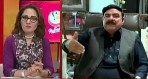 G For Gharida Farooqi (Sheikh Rasheed Ahmad Exclusive Interview) – 23rd April 2016
