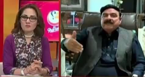 G For Gharida Farooqi (Sheikh Rasheed Ahmad Exclusive Interview) – 23rd April 2016