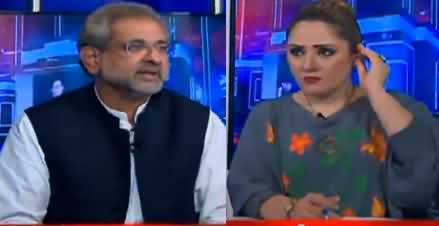 G For Gharidah (Shahid Khaqan Abbasi Interview) - 19th October 2020