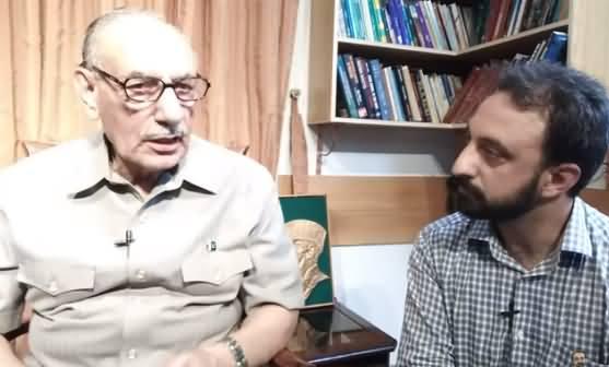 Gen. Amjad Shoaib Tells Few Facts About Hudaibiya Paper Mills Case
