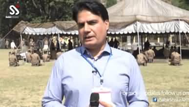 General Bajwa's LOC Visit - Sabir Shakir Analysis Live From Line of Control (Kashmir)