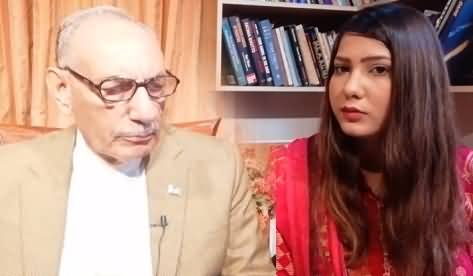 General (R) Amjad Shoaib Exclusive Interview on The Present Situation of Kashmir