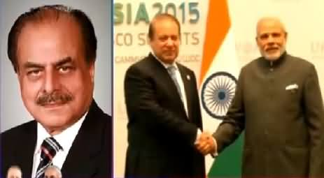 General (R) Hameed Gul Views on PM Nawaz Sharif's Meeting with Narendra Modi