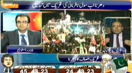 Geo News (Special Transmission) 11PM To 12PM – 17th August 2014