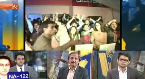 Geo News (Special Transmission On NA-122 Verdict) – 22nd August 2015
