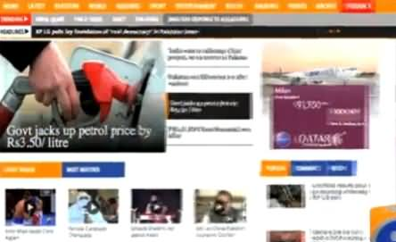 Geo News Website Was Hacked By BOL's Supporters, Hackers Criticize Pakistani Media