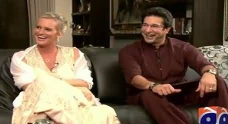 Geo Special REPEAT (Waseem Akram And Shaniera Akram Interview) – 15th August 2015