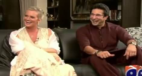 Geo Special (Waseem Akram And Shaniera Akram Interview) – 18th July 2015