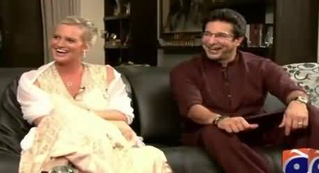 Geo Special REPEAT (Waseem Akram & Shaniera Akram Interview) – 21st July 2015
