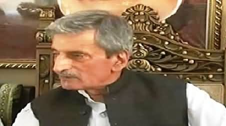 Ghulam Ahmad Balour Criticizing Imran Khan on His Statement to Resolve KPK Assembly