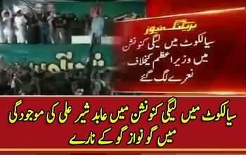 Go Nawaz Go Echoes In Sialkot