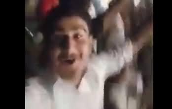 Go Nawaz Go Slogans in Jinnah Stadium Sialkot in the Presence of Khawaja Asif