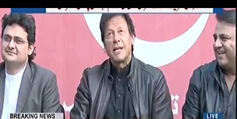 Gone are the days when people accepted an NRO, Nawaz Sharif is a security risk for Pakistan - Imran Khan