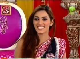 Good Morning Pakistan Eid Special (Mathira, Meera and Other Celebrities) - 9th August 2013