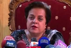Government is trying to fool the people once again on the issue of drones: Dr Shireen Mazari