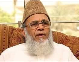 کرپشن کے معاملے میں حکومت اور اپوزیشن ملی ہوئی ہیں۔ سید منور حسن