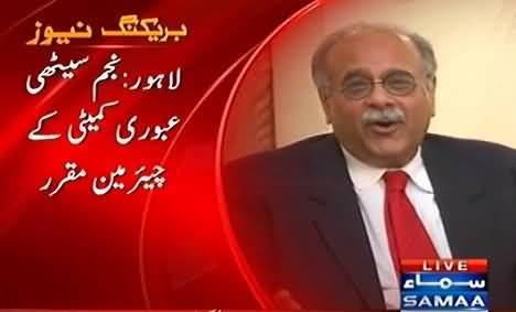 Govt Appoints Najam Sethi as Chairman PCB Interim Committee