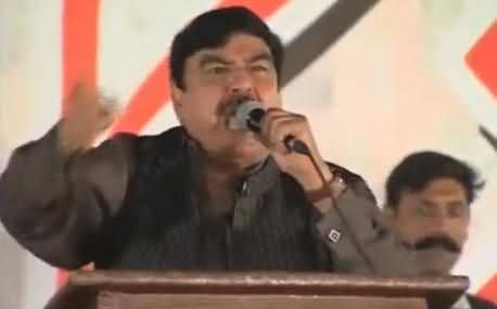 Govt Decides To Take Strict Action Against Sheikh Rasheed For Provocative Speech