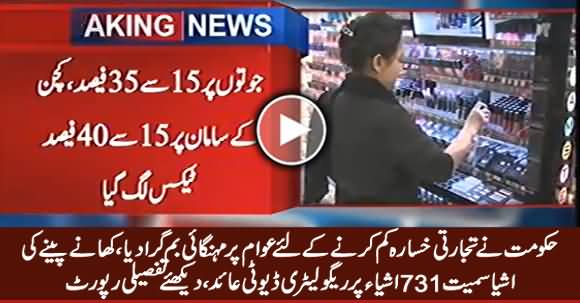 Govt Imposed Regulatory Duties on 731 Import Items, Watch Detailed Report