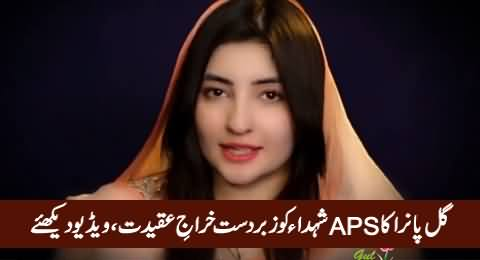 Gul Panra Presents Special Tribute To The Martyrs APS Incident