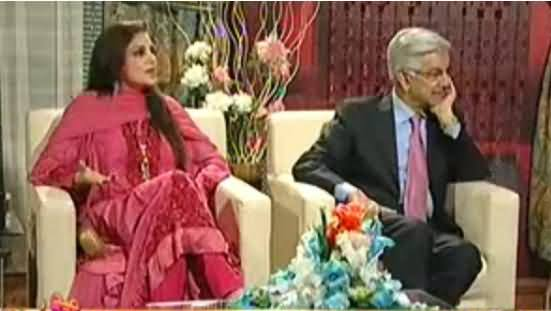Hamid Mir discussing the Scandal of Khawaja Asif and Kashmala Tariq in their Presence in Capital Talk