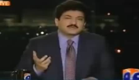 Hamid Mir Exposing the Muk Muka of Nawaz Sharif and Asif Zardari By Showing A Video Clip
