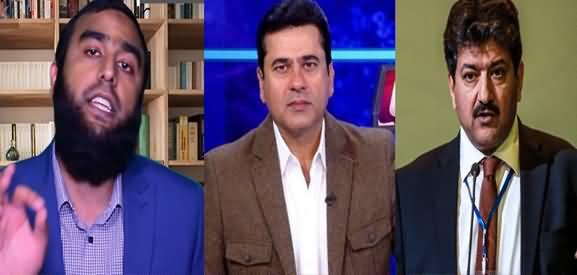Hamid Mir Ki Anchor Imran Riaz Khan Ko Dhamki - Details By Waqar Malik