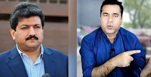 Hamid Mir Sahafat Karo, Munafqat Nahi - Imran Riaz Khan's Response on His Viral Video