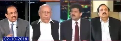 Hamid Mir Show (Kia Imran Khan Economy Sanbhal Lein Ge) - 10th October 2018