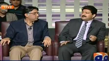 Hamid Mir Singing Song As Challenge to Naseer Bhai in Khabarnaak