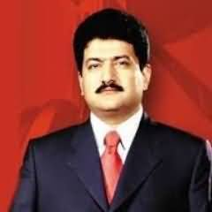 Hamid Mir Tweet on Incident of Ink Throwing on Khawaja Asif's Face