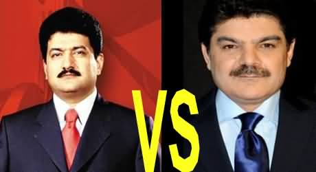 Hamid Mir Vs Mubashir Luqman - By Abi Amir - 4th January 2014