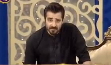 Hamza Ali Abbasi's Excellent Response To Critics About Actors Hosting Ramzan Shows