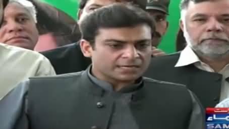 Hamza Shahbaz Bashing Imran Khan During Election Campaign For Ayaz Sadiq