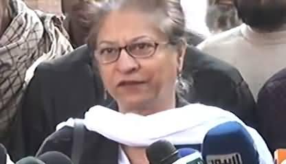 Har Koi Apna Apna Kaam Kare Tu Behtar Hai - Asma Jahangir Response on CJ's Speech