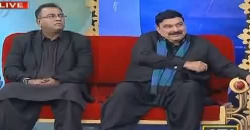 Har Lamha Purjosh on ARY News (Sheikh Rasheed As Guest) – 8th February 2017