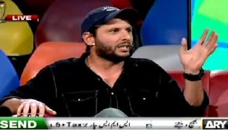 Har Lamha Purjosh (Shahid Afridi Special) – 29th March 2015